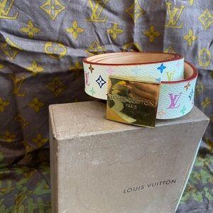 Louis Vuitton x Murakami Multicolor Monogram Belt
